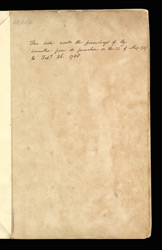 Fair Minutes Of The Committee For The Abolition Of The Slave Trade f. 1